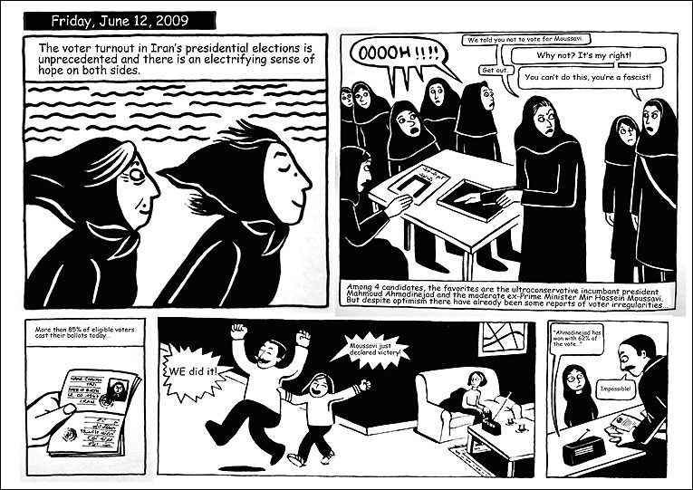 Marjane Satrapi S Real Superheros March Hare Press